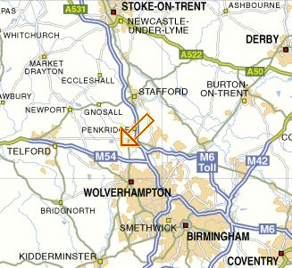 Brewood Map